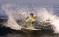 Surfing Jeffreys Bay